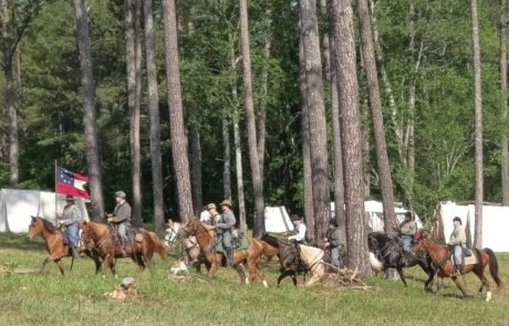 Georgia Sons of Confederate Veterans Historical Reenactments