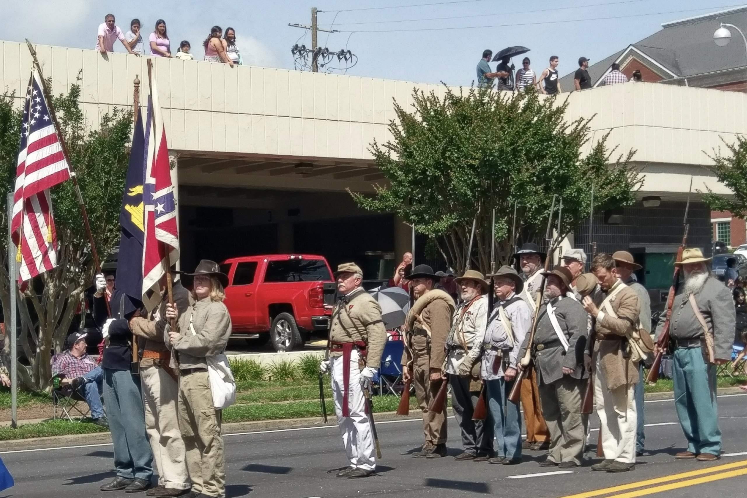 Georgia Sons of Confederate Veterans Parades