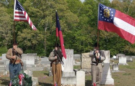 Georgia Sons of Confederate Veterans Graveside Ceremonies