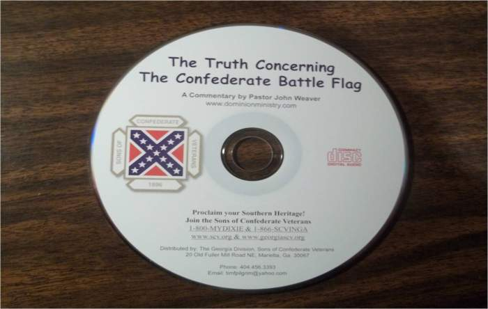 Truth Concerning the Confederate Battle Flag CDs