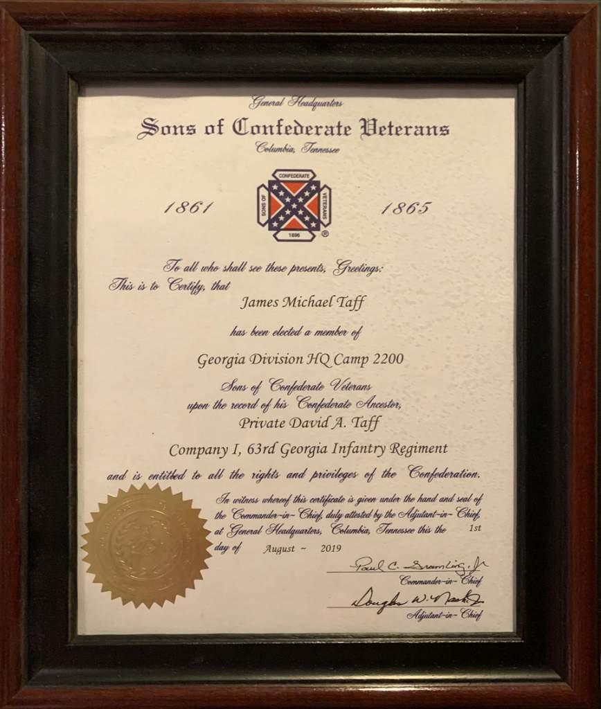 GA SCV Certificate