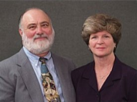 Pastor John Weaver and his wife Alice