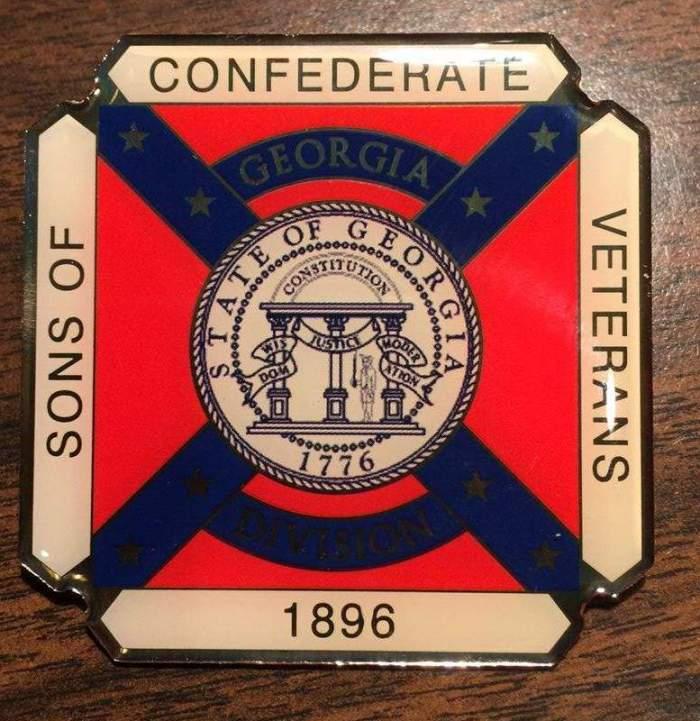Georgia Division Logo Lapel Pin